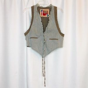 Free People Vest Size 12